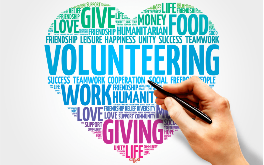 The need for volunteers in the charity sector